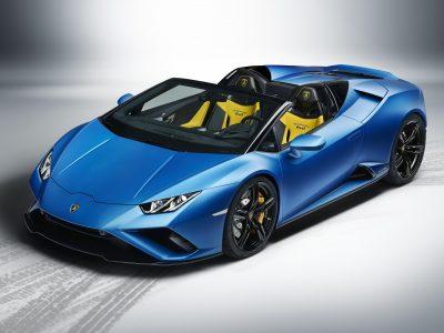 Lamborghini reveals Huracán EVO RWD Spyder