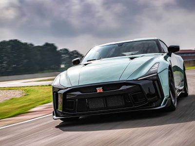 Nissan's 710bhp GT-R 50 Revealed at Tazio circuit
