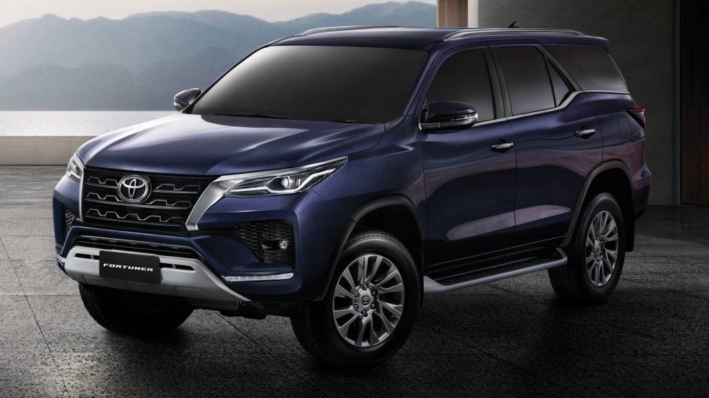 new toyota fortuner 2021 facelift revealed