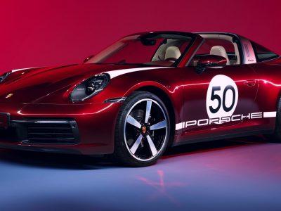 Porsche rolls out 911 Targa 4S Heritage Design Edition