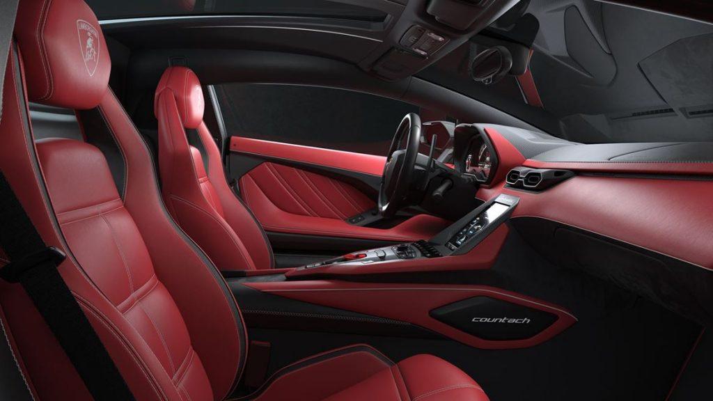 Lamborghini Countach LPI 800-4 2022 interior. The new one off model launch from lamborghini. dxpart